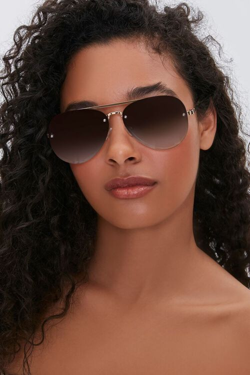 Metal Aviator Sunglasses, image 2