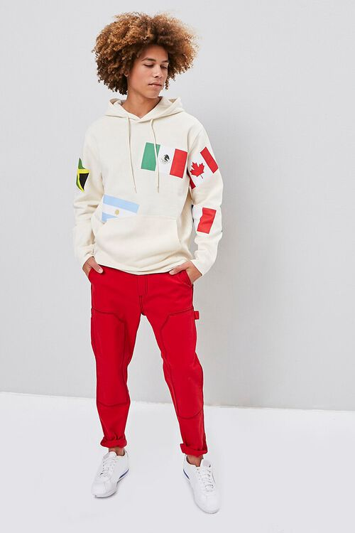 World Flags Graphic Hoodie, image 5