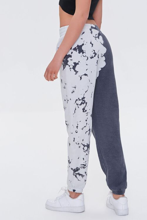 CHARCOAL Fleece Bleach Dye Joggers, image 3