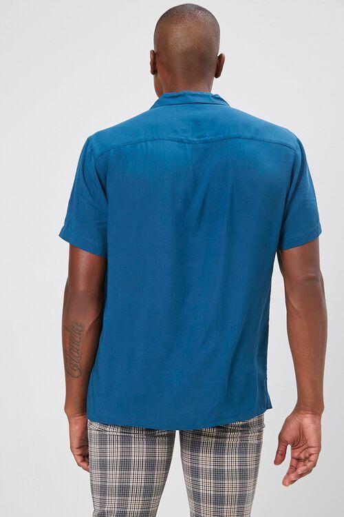 Classic-Fit Cuban Collar Shirt, image 3