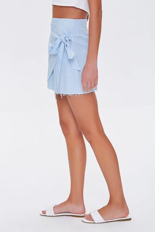 Frayed Wrap Skirt, image 3