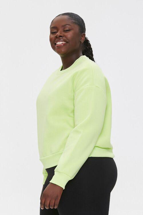 Plus Size Fleece Sweatshirt, image 2