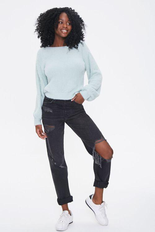 Plush Twist-Back Sweater, image 5