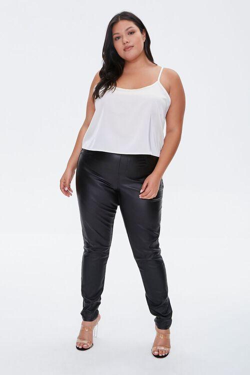 Plus Size Satin Cami, image 4