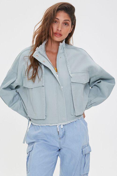 Frayed Twill Jacket, image 2