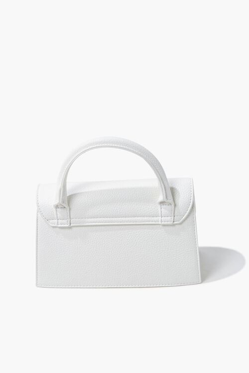 Structured Flap-Top Crossbody Bag, image 3
