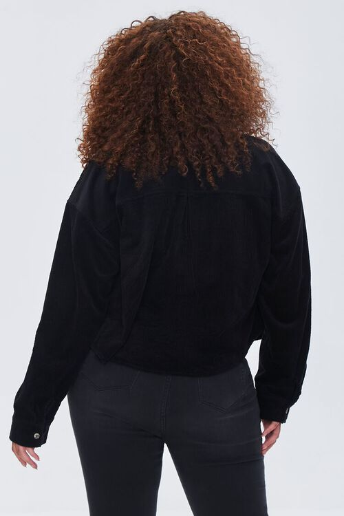 Plus Size Corduroy Shirt, image 3