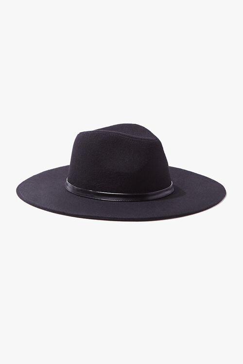 Brushed Wide-Brim Panama Hat, image 2