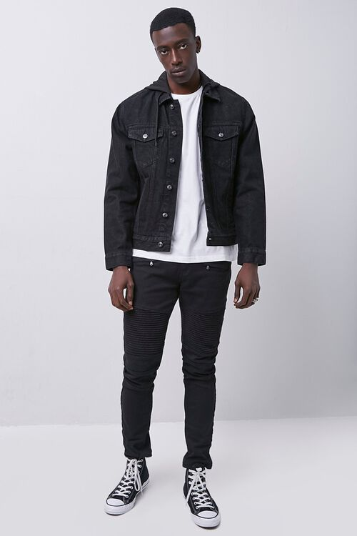 Hooded Denim Jacket, image 4