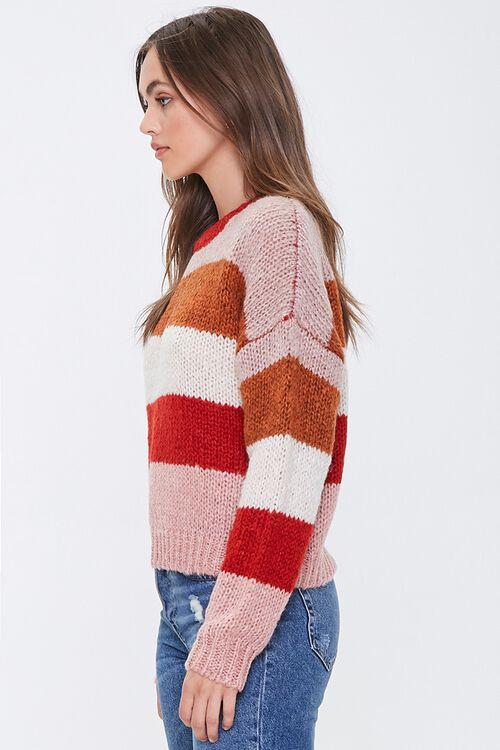 Striped Drop-Shoulder Sweater, image 2