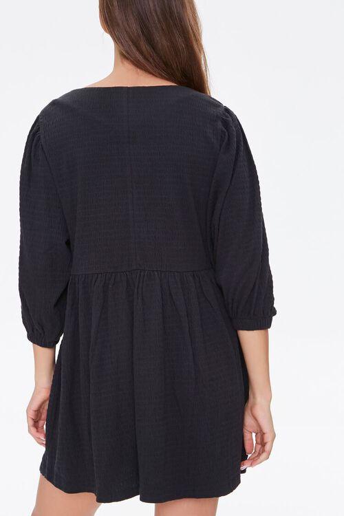 Textured Knit Mini Dress, image 3