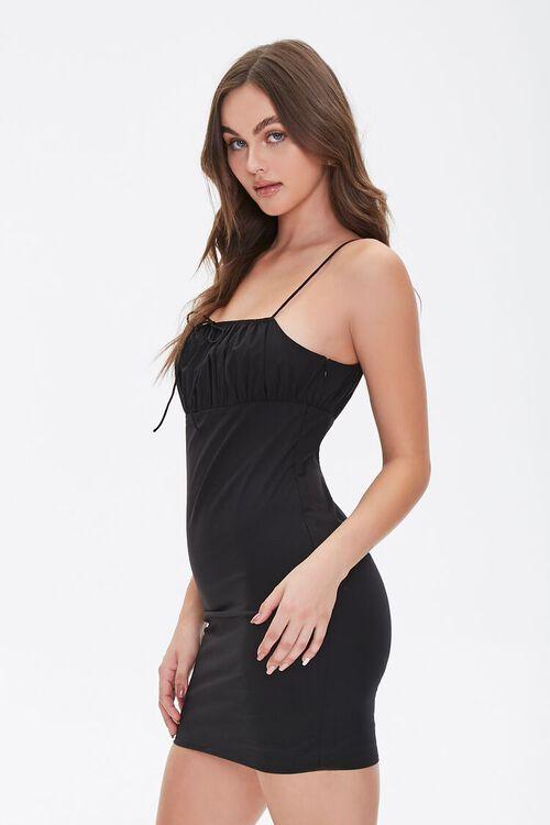 Bodycon Shirred Mini Dress, image 2