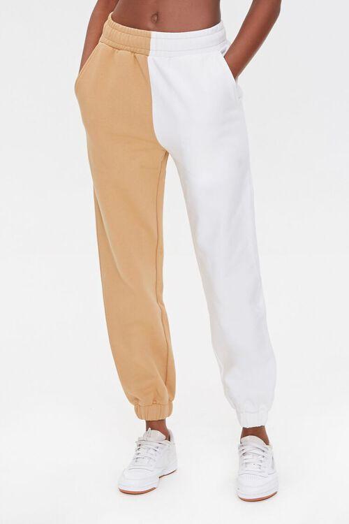 Split Colorblock Sweatpants, image 2
