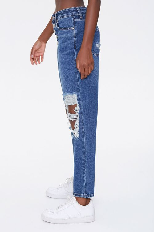 Distressed Mom Ankle Jeans, image 3