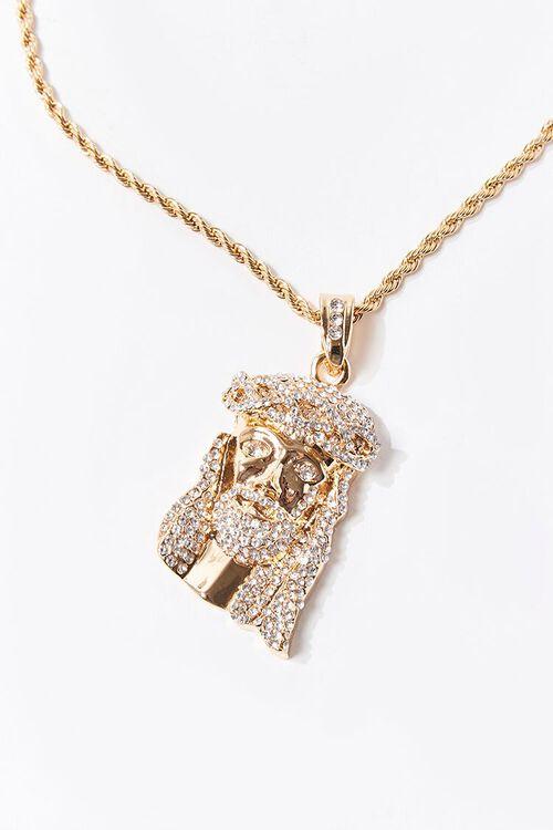 Men Jesus Pendant Necklace, image 1