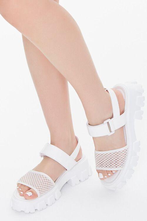 Lug-Sole Flatform Sandals, image 1