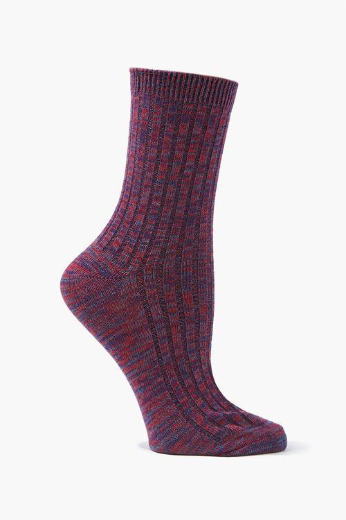 Marled Crew Socks, image 2