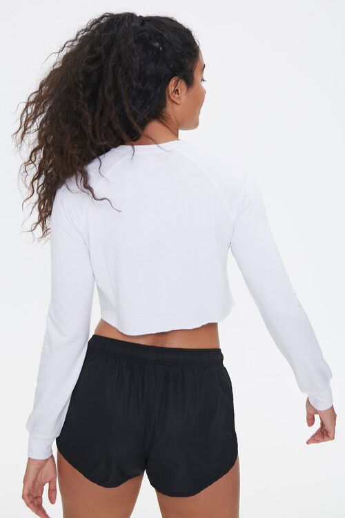 Active French Terry Crop Top, image 3