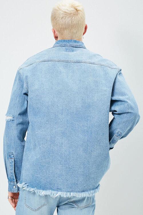 Distressed Denim Shirt, image 3