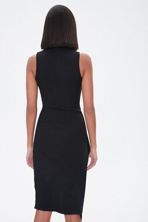 Ribbed Twisted Midi Dress, image 3