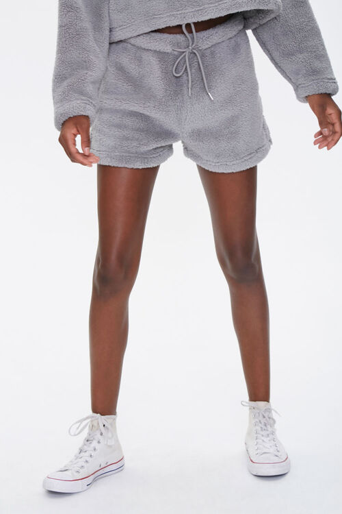 Plush Drawstring Shorts, image 2