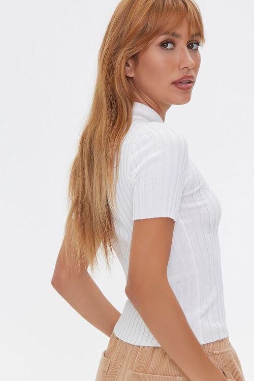 Sweater-Knit Polo Shirt, image 2