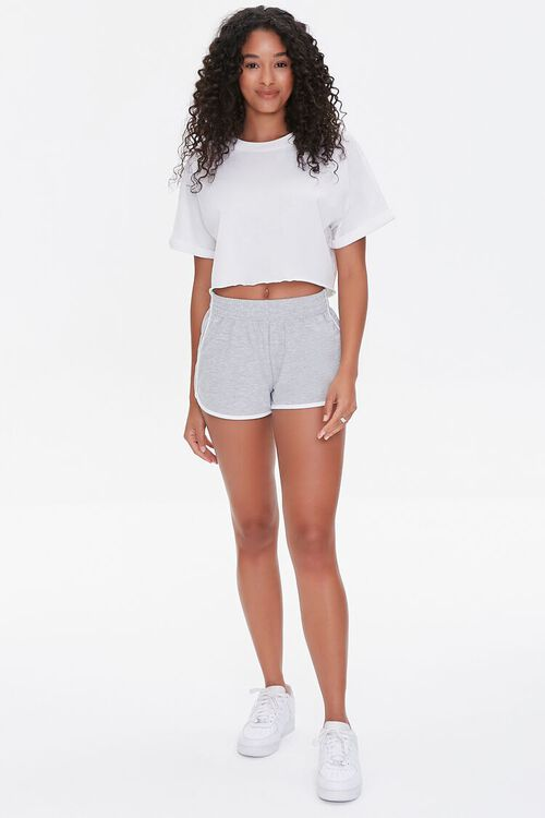 French Terry Ringer Shorts, image 5