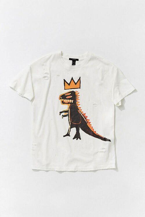 WHITE/MULTI Basquiat Graphic Tee, image 5