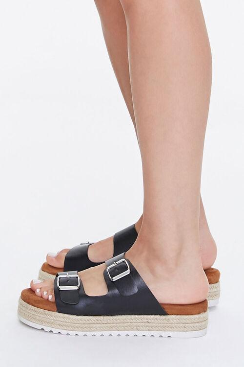 Buckled Espadrille Platform Sandals, image 2