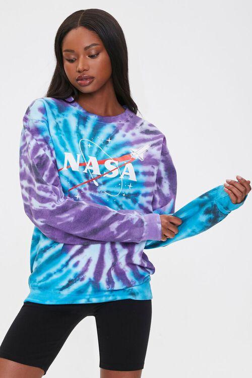 Tie-Dye NASA Pullover, image 1