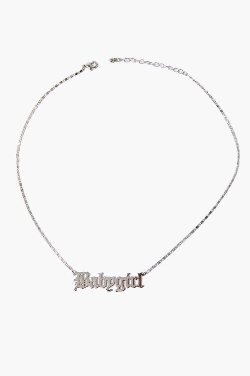 Babygirl Pendant Necklace, image 2