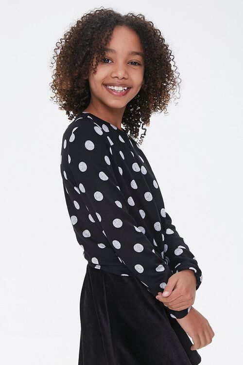 Girls Polka Dot Top (Kids), image 2