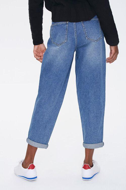 MEDIUM DENIM Wide-Leg Ankle Jeans, image 4