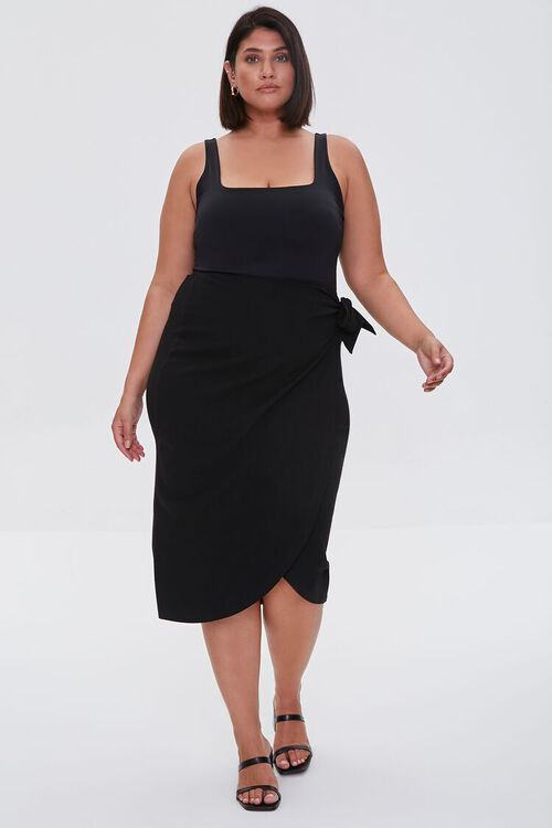 Plus Size Tulip-Hem Skirt, image 5