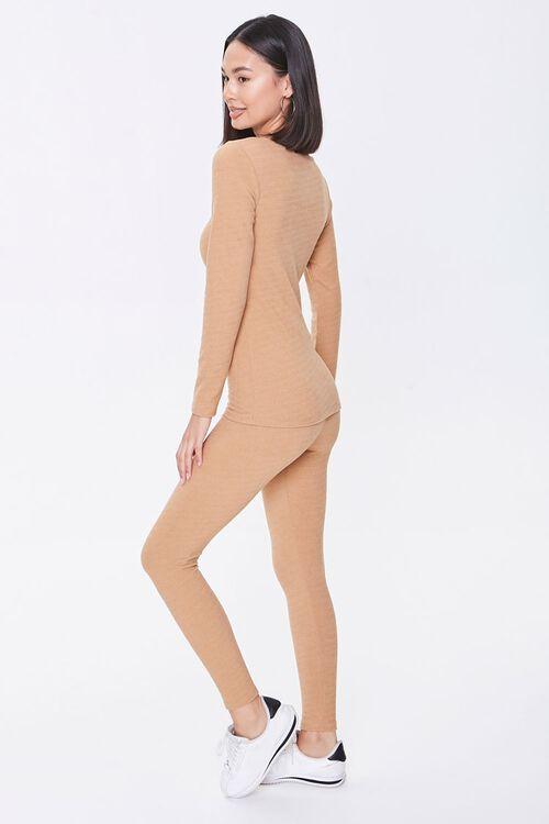 Pajama Top & Leggings Set, image 2