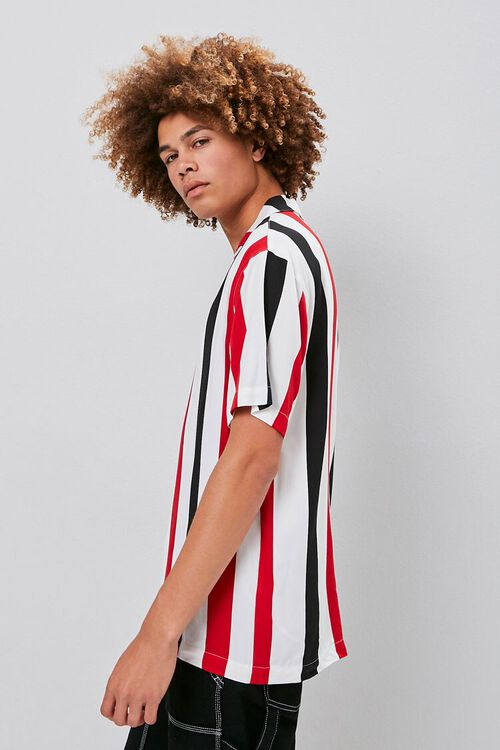 Classic Fit Vertical Striped Shirt, image 2