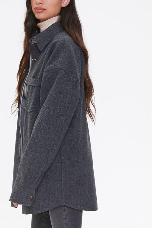 Drop-Shoulder Button-Front Jacket, image 2
