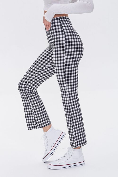 Gingham Flare Pants, image 3