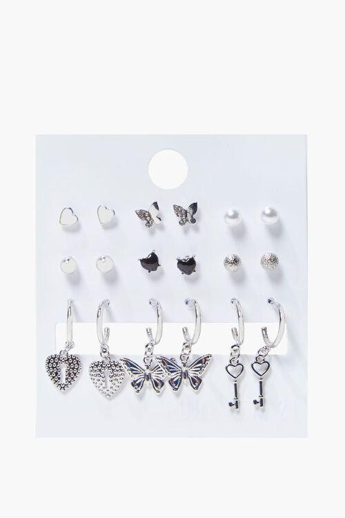 Variety Charm Hoop & Stud Earring Set, image 2