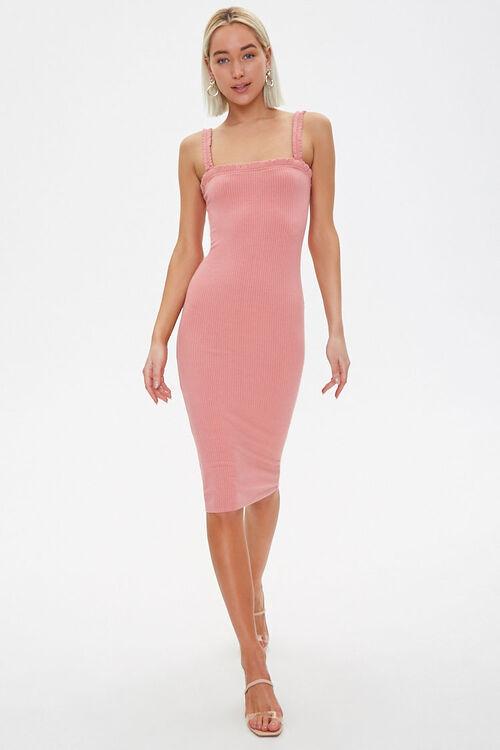 Ribbed Bodycon Dress, image 4