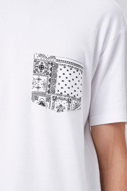 Bandana Print Pocket Tee, image 5