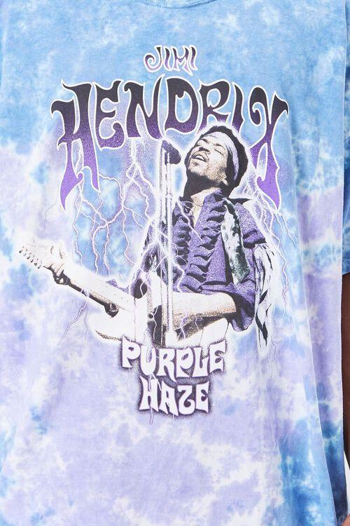 Jimi Hendrix Tie-Dye Graphic Tee, image 5