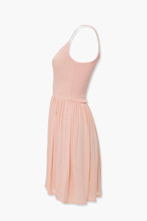 Smocked Skater Dress, image 2