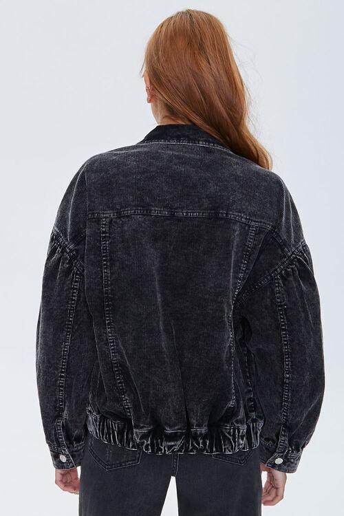 Corduroy Button-Front Jacket, image 3