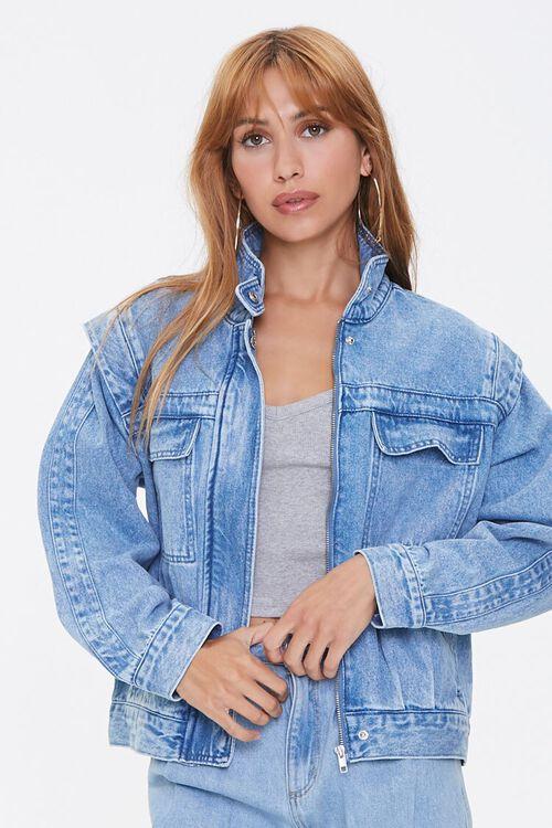 ACID DENIM Layered Denim Jacket, image 1