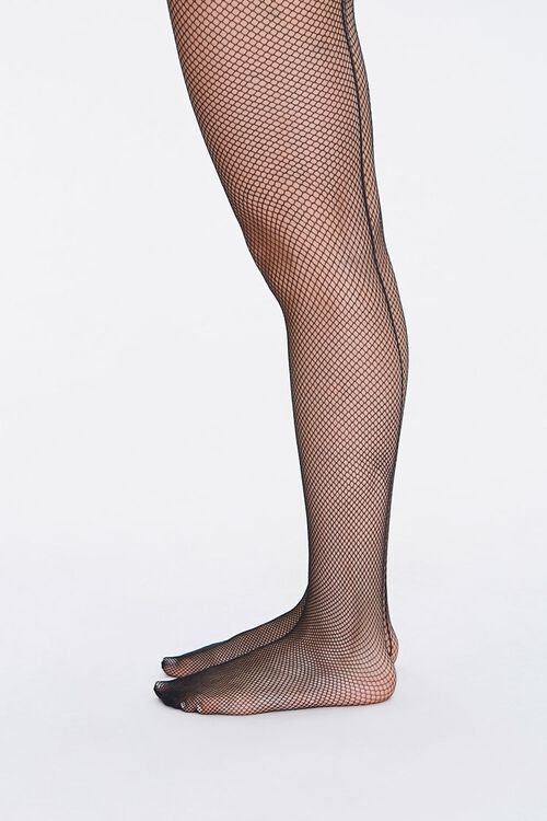 Sheer Fishnet Tights, image 2