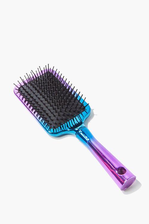 Iridescent Paddle Hair Brush, image 1