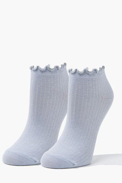 Lettuce-Edge Ankle Socks, image 1