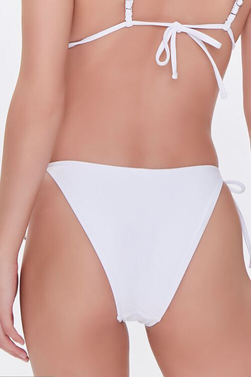 WHITE String Bikini Bottoms, image 4