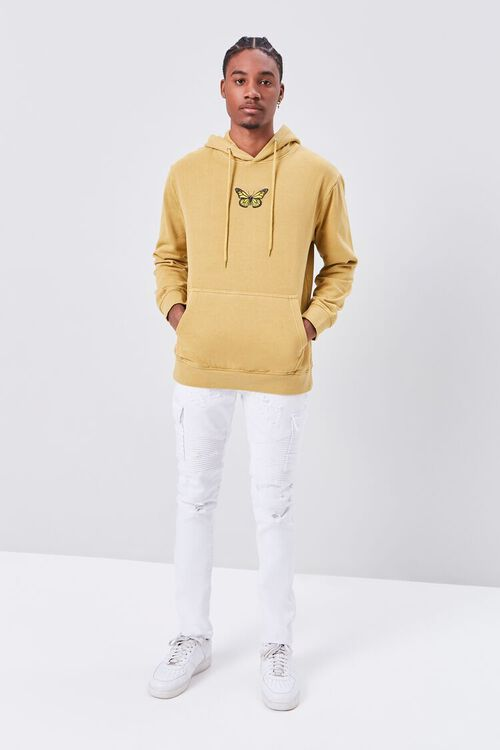 Butterfly Embroidered Graphic Hoodie, image 4